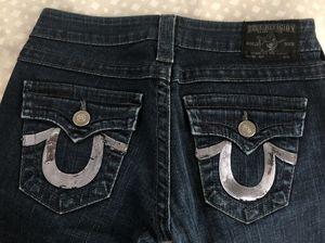 True religion women's jean size 26. Fit 5'2-5'4 height for Sale in Anaheim, CA