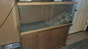 55 gallon fish tank for Sale in Waterloo, IL