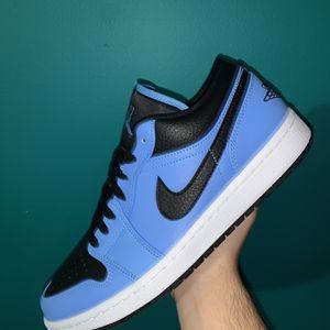 Jordan 1 Low University Blue Size 10.5,9.5 DS 125$ Each for Sale in Miami, FL