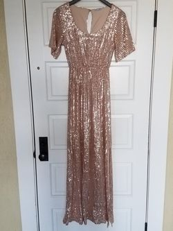 Gold Sequin Dress for Sale in Portland,  OR