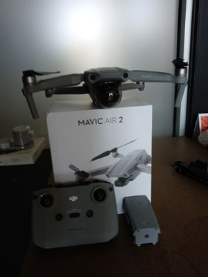 Dji Mavic air 2 w/extra battery $800 for Sale in Chicopee, MA