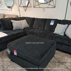 NEW IN THE BOX, L SHAPED SECTIONAL, SLATE, IN STOCK NOW. for Sale in Santa Ana,  CA
