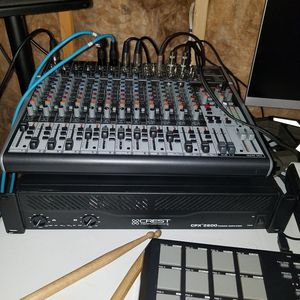 Amp and Mixing board for Sale in Springfield, MA