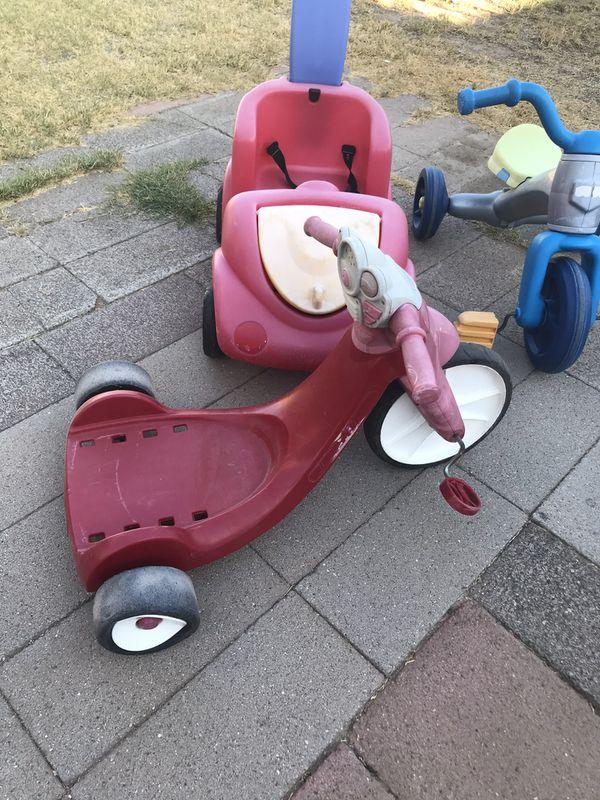 Kids toy cart