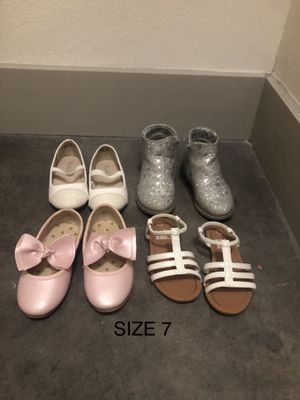 Like new toddler 6&7 shoes for Sale in Dallas, TX