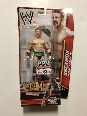 WWE TOYS R US EXCLUSIVE Sheamus Action Figure for Sale in Fairfax Station, VA