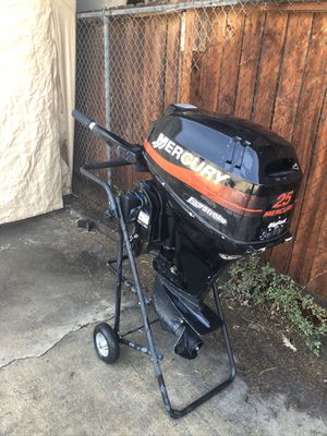 2002 Bigfoot Mercury 25hp Outboard (not operating) for Sale in Fullerton, CA