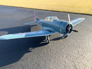 Dauntless Douglas by freewing. RC airplane. for Sale in East Wenatchee, WA