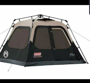 Coleman Instant Cabin Tent, 4 person, 8ft by 7ft for Sale in Glendale, AZ