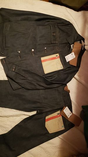 Men's Burberry denim Jean fit (with tags $1,630) for Sale in Renton, WA