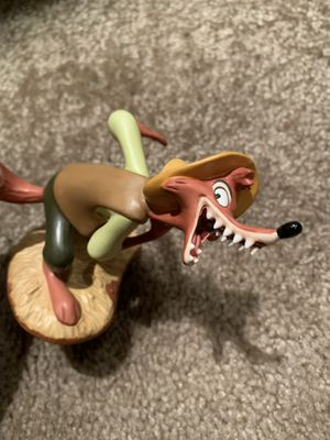 """Disney Classic collection wdcc song of the south Brer Fox """" I gotcha Brer Rabbit"""" for Sale in Chandler, AZ"""