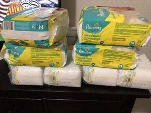 Newborn pampers for Sale in Redwood City, CA