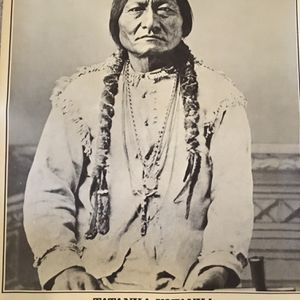 Smithsonian Historic and Rare Sitting Bull Poster for Sale in Portland, OR