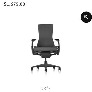 Herman Miller Embody Ergonomic Chair for Sale in Chino Hills, CA