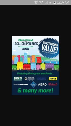 Coupon book over 200 places for Sale in Cleveland, OH