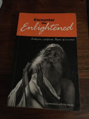 Encounter the Enlightened, Coversations with the Master, Sadhguru Jaggi Vasudev, 2003 softcover, Good condition for Sale in Westerville, OH
