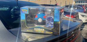 Hidden Fates Pokemon Great Ball Collection Box *FACTORY SEALED* for Sale in Carlstadt, NJ