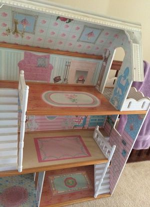 Wooden Barbie house for Sale in Sully Station, VA