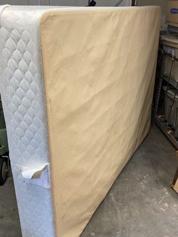 Free - Full Size Box Spring for Sale in Seattle,  WA