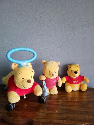 Winnie the pooh baby ride on toy for Sale in Azalea Park, FL