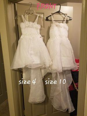 Flower girl/formal dresses for Sale in Austin, TX