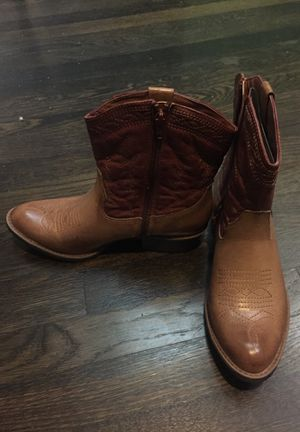NWB Brown Cowboy Boots Women's 7 1/2 Brand Coconuts by Matisse for Sale in Needham, MA