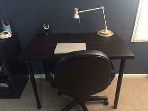 Small desk/table and chair for Sale in Denver, CO
