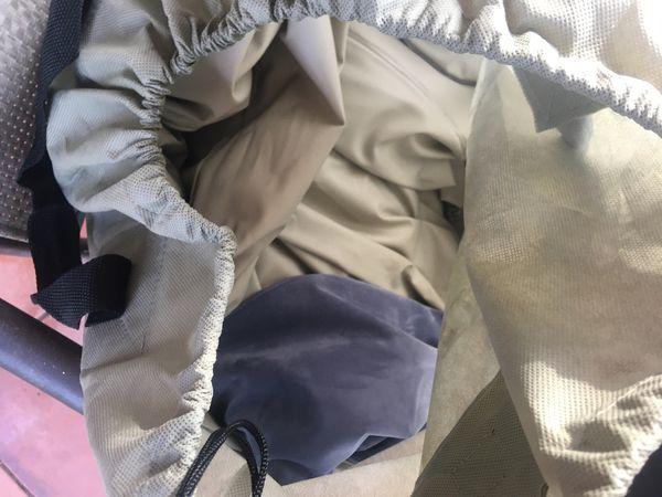 INTEX queen size air mattress with electric pump