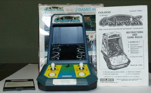 Vintage 1981 Coleco Galaxian Tabletop Arcade Video Game with Manual for Sale in Los Angeles, CA