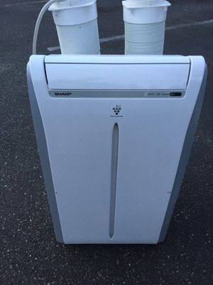 Portable Air Conditioner - Sharp dual hose, 13,000 btu. for Sale in Issaquah, WA