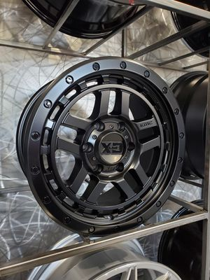 18x8.5 XD140 black wheels fits jeep wrangler toyota Tacoma 4runner ford f150 rim wheel tire shop for Sale in Tempe, AZ