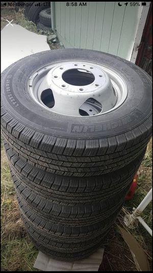 Dually Wheels LT 235/80r17 for Sale in Auburn, WA