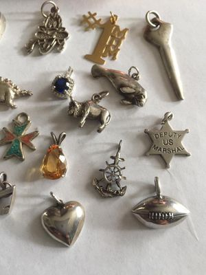 Vintage sterling silver charm for Sale in Portland, OR