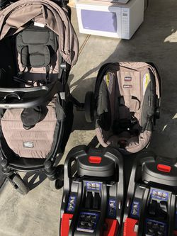 Brix Stroller And Car seat And 2 Base for Sale in Beaverton,  OR