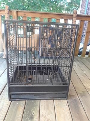 Heavy duty bird cage in excellent condition for Sale in Nashville, TN