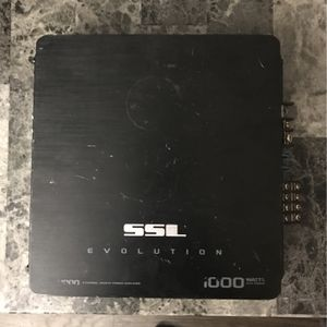 SSL Evolution 1000 Watt Amp for Sale in Phoenix, AZ