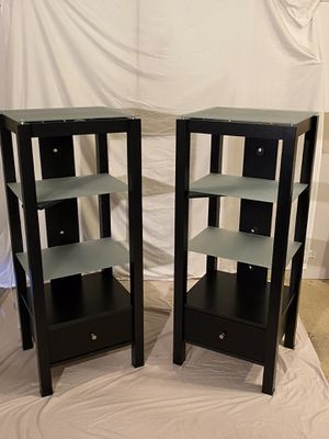 Frosted glass display shelves with light for Sale in Beaverton, OR