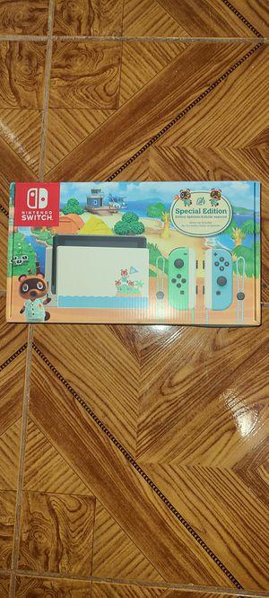 Nintendo switch brand new animal Crossing edition for Sale in San Bernardino, CA