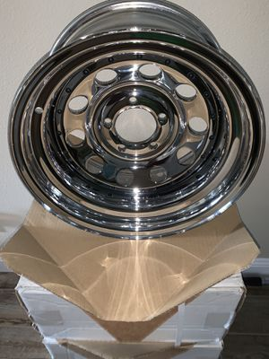NEW Chrome Pacer Wheels Rims - Set Jeep Truck or Car for Sale in Safety Harbor, FL