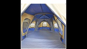 Camping tent for rv or trailer fits more than 10 people and is 4 rooms for Sale in Anaheim, CA