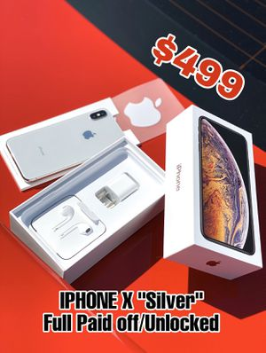 """iPhone X """"Silver"""" for Sale in Fontana, CA"""