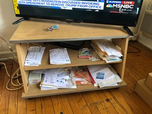 Tv stand with shelving for Sale in Hyattsville, MD