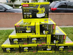 +One Ryobi 18 Volt Cordless Fogger Mister Sprayer Battery & Charger for Sale in Santa Fe Springs, CA