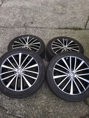 VW or AUDI wheels with all season continental tires for Sale in Kent, WA