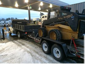 Dump truck and skidsteer for Sale in Knightdale, NC