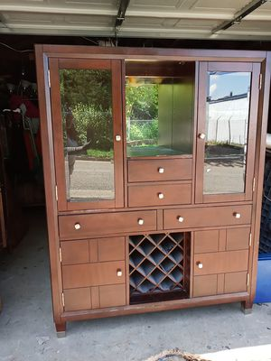 Beautiful china cabinet very unique $1,000 piece for Sale in St. Louis, MO