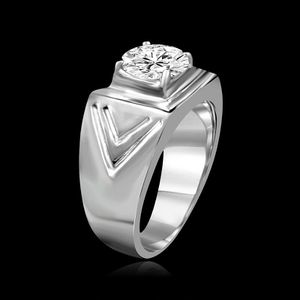 2 CT(8mm) intensely Radiant Round Diamond Veneer Wide Chevron Band set in fine Stainless Steel Men's ring. 635R1036 for Sale in Jersey City, NJ