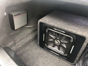 Kicker sub and amp for Sale in Olney, MD