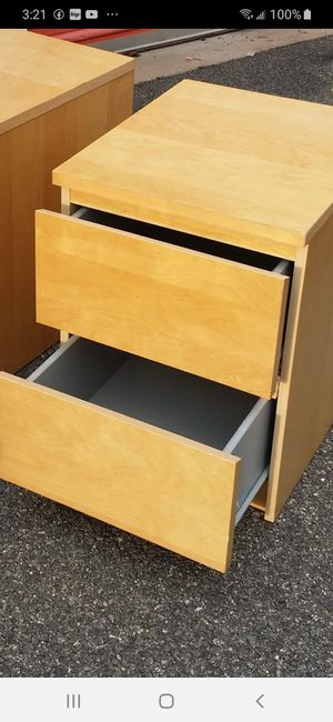 IKEA TWO NIGHSTAND for Sale in Fairfax, VA