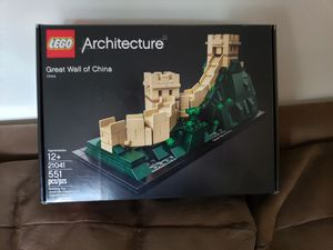 Lego Architecture Set #21041: Great Wall of China for Sale in Fullerton, CA